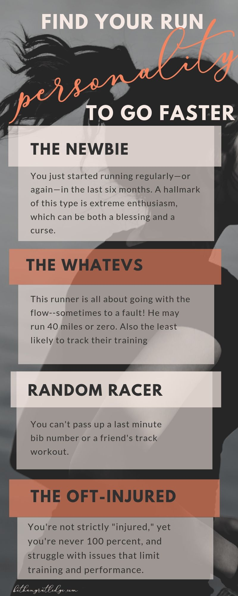 Find your runner personality [ to go faster] — Bethany Rutledge