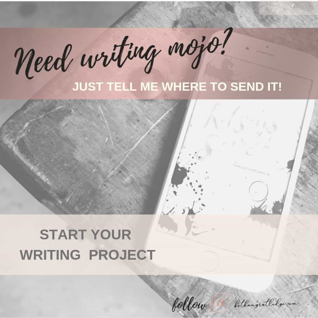 5 Ways to Embrace Your New Writer Status— Bethany Rutledge
